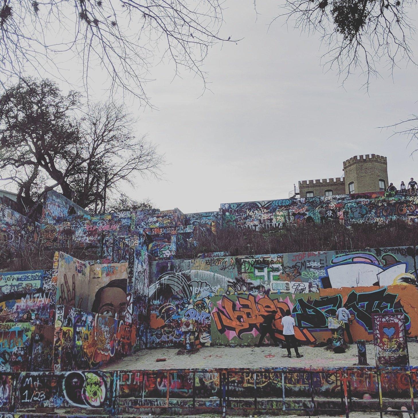 Graffit Park in Austin