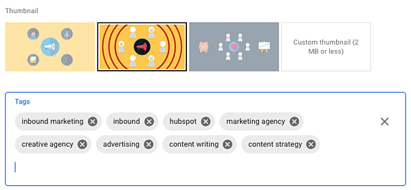 YouTube Marketing - Keyword Tags